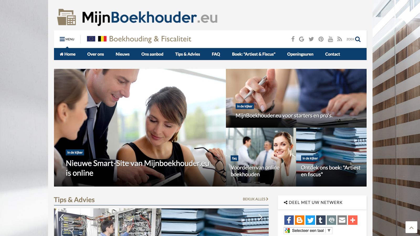 Mijn Boekhouder – boekhouding & fiscaliteit – Leuven