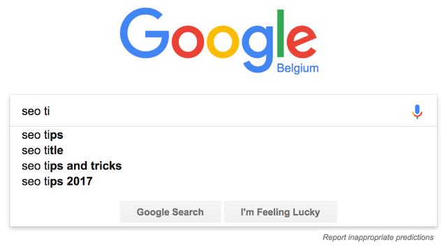 Google stopt met auto-complete / Instant Search functie