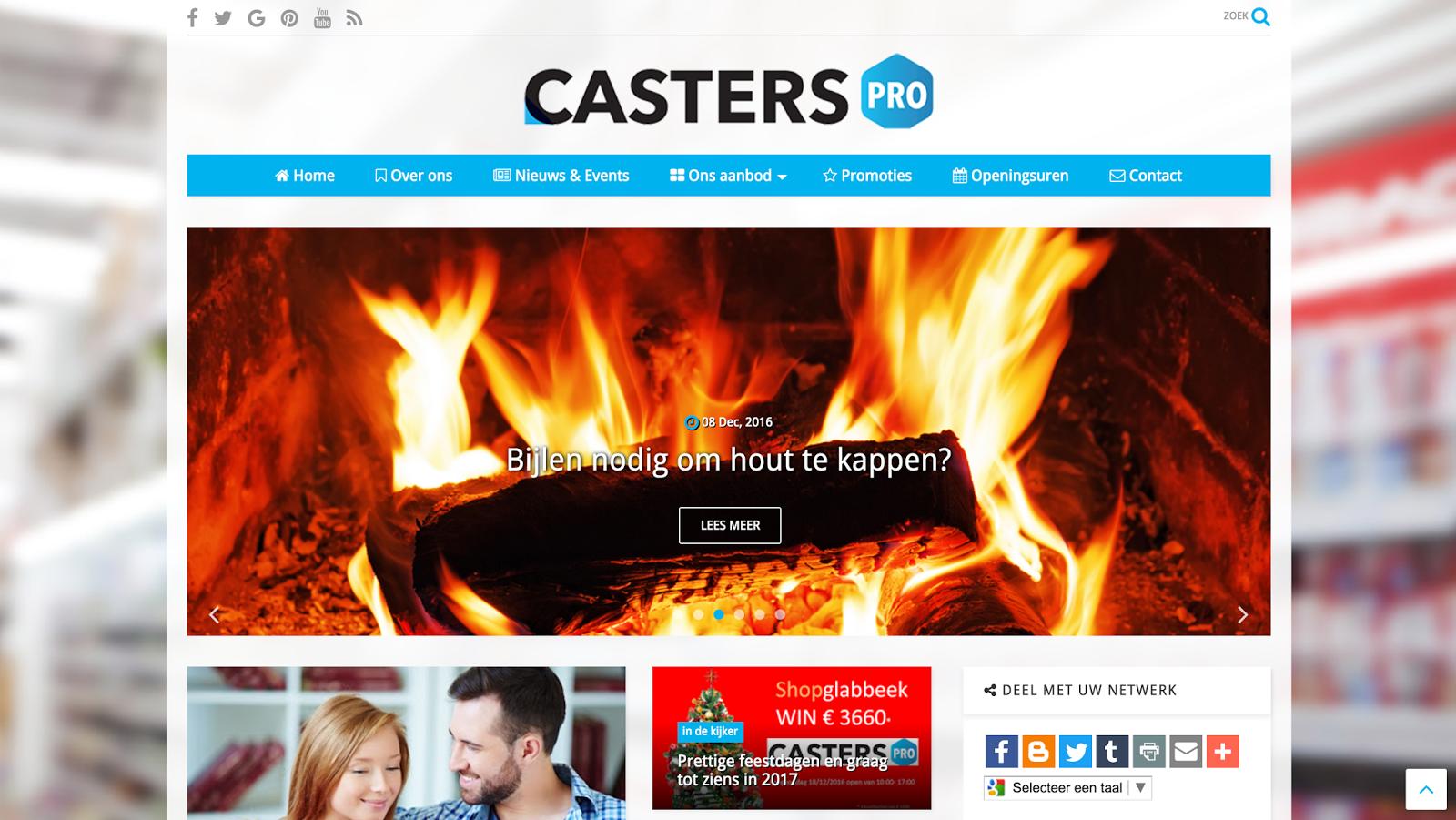 Casters pro – ijzerwaren & doe-het-zelf handel – Bree
