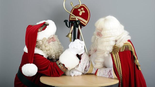 Sinterklaas vs Kerstman: 12x meer gezocht in Google