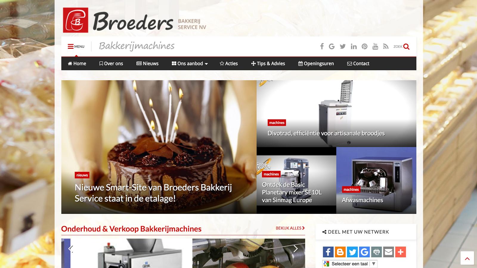 Broeder Bakkerij Service – bakkerijmachines – Hasselt Sint-Lambrechts-Herk