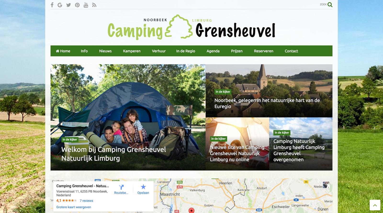 Camping Grensheuvel – Noorbeek