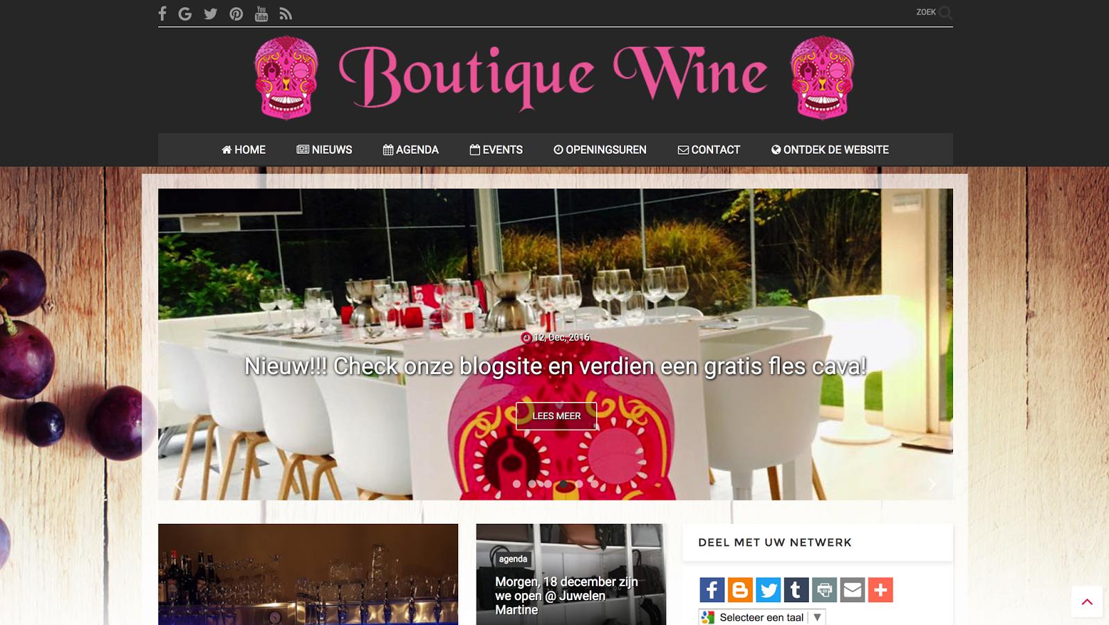 Boutique Wine – wijnhandel – Hasselt