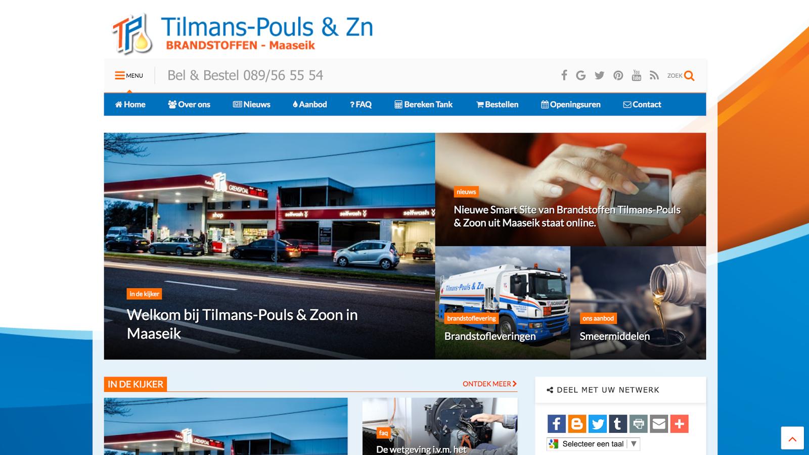Tilmans-Pouls – brandstoffen – Maaseik