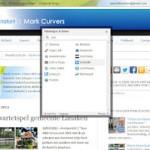 Hoe kan ik zelf een bericht vanuit de blog delen via alle andere social media zoals Linkedin, Hyves, …