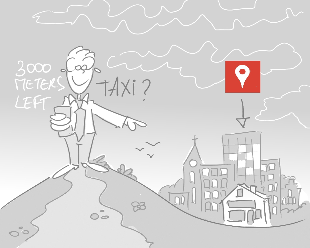 4 gekoppeld aan google places