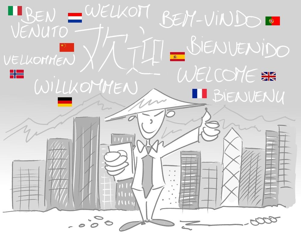 5 vertaald in meer dan 50 talen