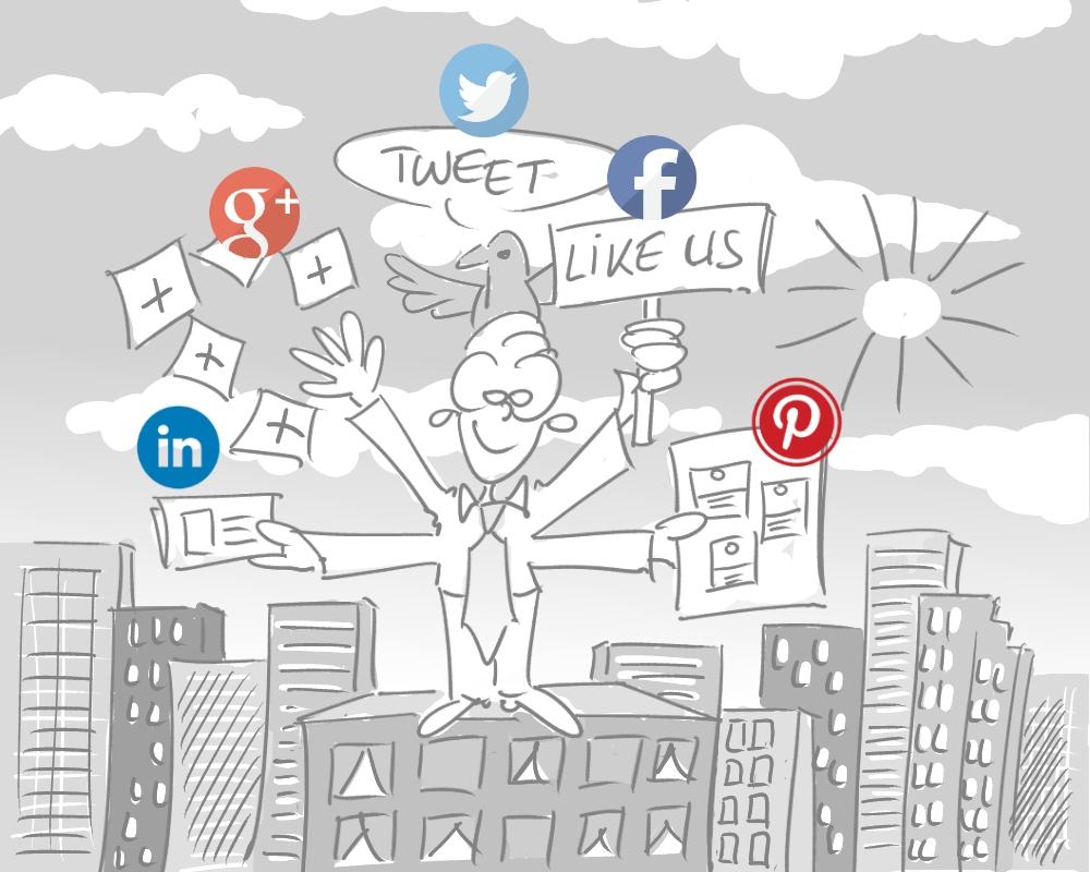 8 abonneren social media
