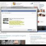 Hoe kan ik zelf een bericht vanuit de blog delen via mijn Facebook-account?