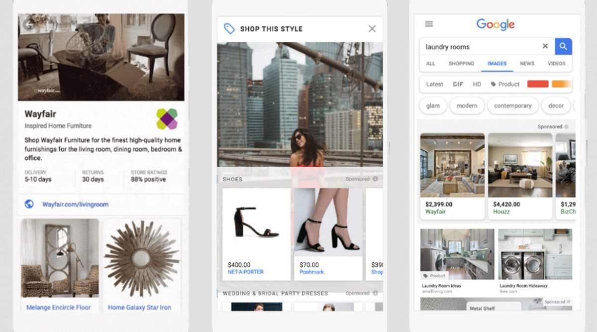 Google rolls out video for Showcase Shopping ads, shoppable images ...